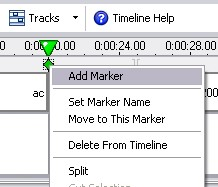 Camtasia4 Adding Markers