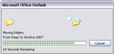 Office2007outlooktime