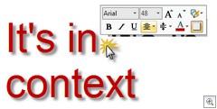 Snagit Cursor Context Toolbar