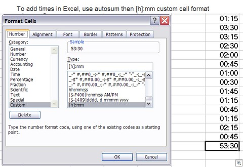 Sum_time_excel